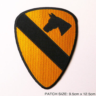"""1st CAVALRY DIVISION """"APOCALYPSE NOW"""" Embroidered Iron-On Patch QUALITY - #6M07"""