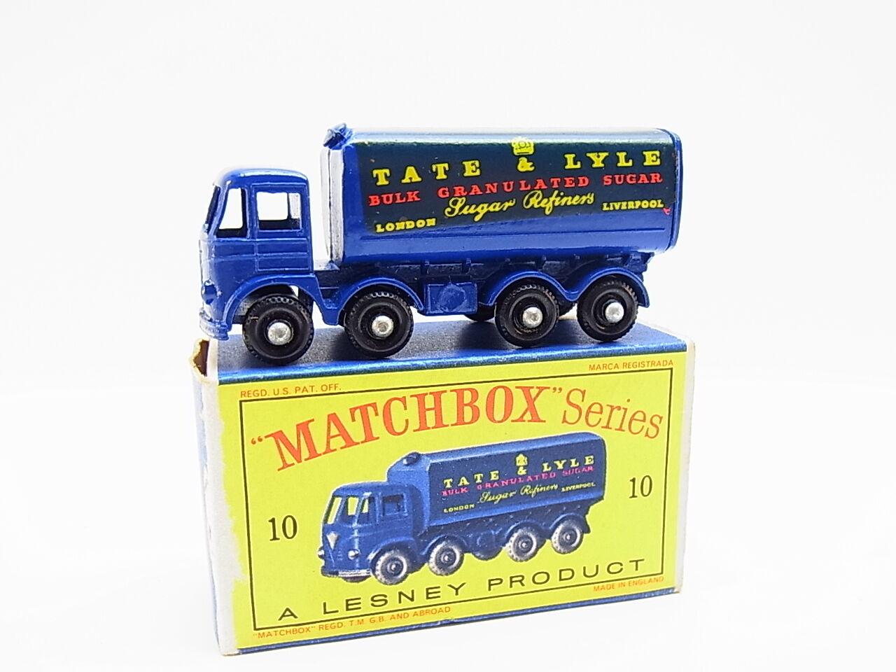 Lot 33332 | MATCHBOX MATCHBOX MATCHBOX 10 C FODEN 15 T Sugar Conteneur modèle comme neuf
