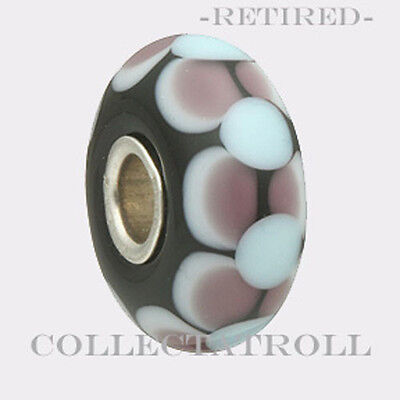 Authentic TROLLBEADS Glass 61345 Dolly 0 RETIRED