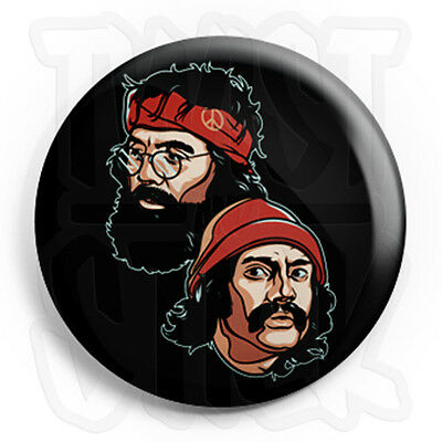 Cheech /& Chong Spliff Zombies Fridge Magnet Option 25mm Weed Button Badge