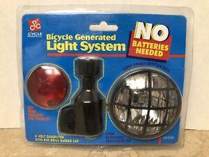 Bicycle Généré Lumière System 6 V Vélo Générateur Arrière Queue Lumière, Phare-afficher Le Titre D'origine