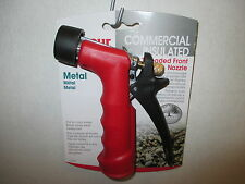 Garden Water Hose Nozzle With Quick Connect Gilmour 572TFRE Insulated Grip