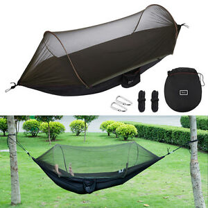 image is loading outdoor camping hammock mosquito    portable lightweight hanging  outdoor camping hammock mosquito   portable lightweight hanging      rh   ebay