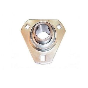 SBPFT202 SLFT15 15mm Pressed Steel 3 Bolt Triangle Flange Bearing SBPFT SLFT
