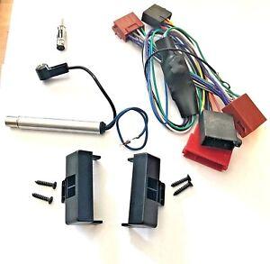 Radio-Blende-fuer-AUDI-A4-B5-Aktivsystem-Auto-Radio-Adapter-Kabel-100Watt-Aktiv