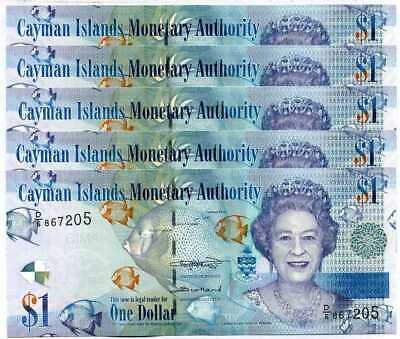 MONTSERRAT ISLAND 1 5 10 20 50 100 DOLLARS UNC 5 x 6 PCS SET 2018 QEII 30 Pcs
