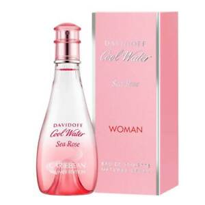 Davidoff-COOL-WATER-SEA-ROSE-edt-100ml-US-Tester-Free-Shipping-Nationwide