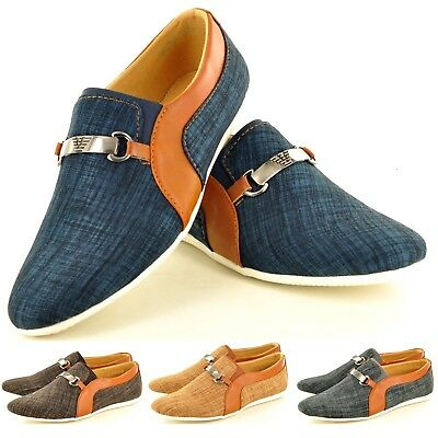 MüHsam New Men's Casual Loafers Moccasins Slip On Moccasins Shoes Avail. Uk Sizes 7-11