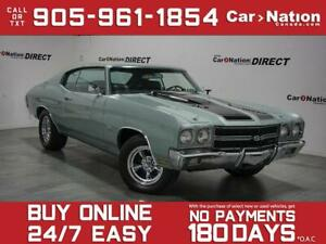 1971 Chevrolet Chevelle SS  454 4-SPEED  MINT CONDITION 