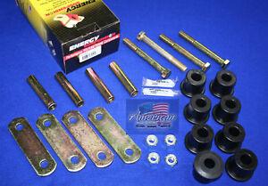 CHEVROLET-1967-1969-Camaro-Heavy-Duty-Mono-Leaf-Spring-Shackle-Set-with-Hardware