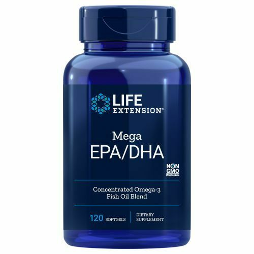 Mega EPA/DHA 120 Softgels by Life Extension