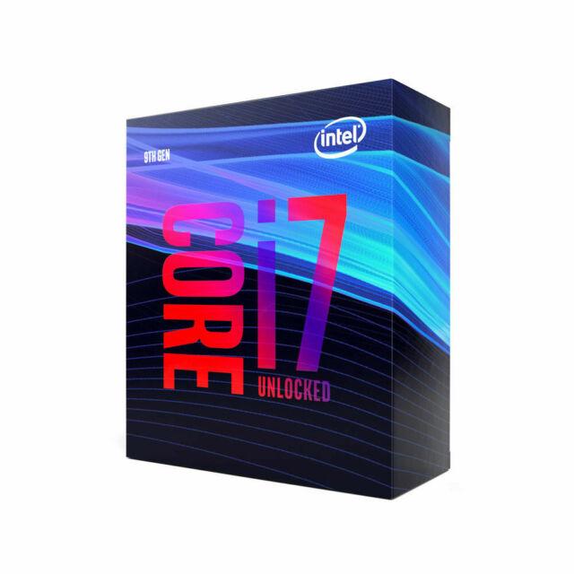 Intel Core i7-9700K Octa-Core Processor (BX80684I79700K) **BRAND NEW**
