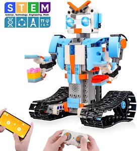 Sillbird Stem Building Blocks Robot For Kids- Remote ...