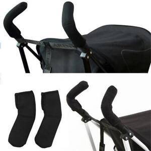 2x-Baby-Stroller-Pram-Buggy-Pushchair-Soft-Handle-Bumble-Bar-Grip-Cover-LA