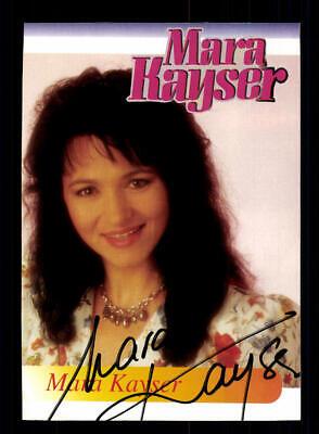 Autogramme & Autographen Original, Nicht Zertifiziert Mara Kayser Autogrammkarte Original Signiert ## Bc 147094 PüNktliches Timing