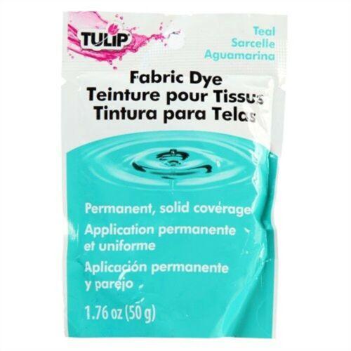 Tulip Permanent Fabric Dye 1.76oz-teal Fabric Dye like Dylon Rit