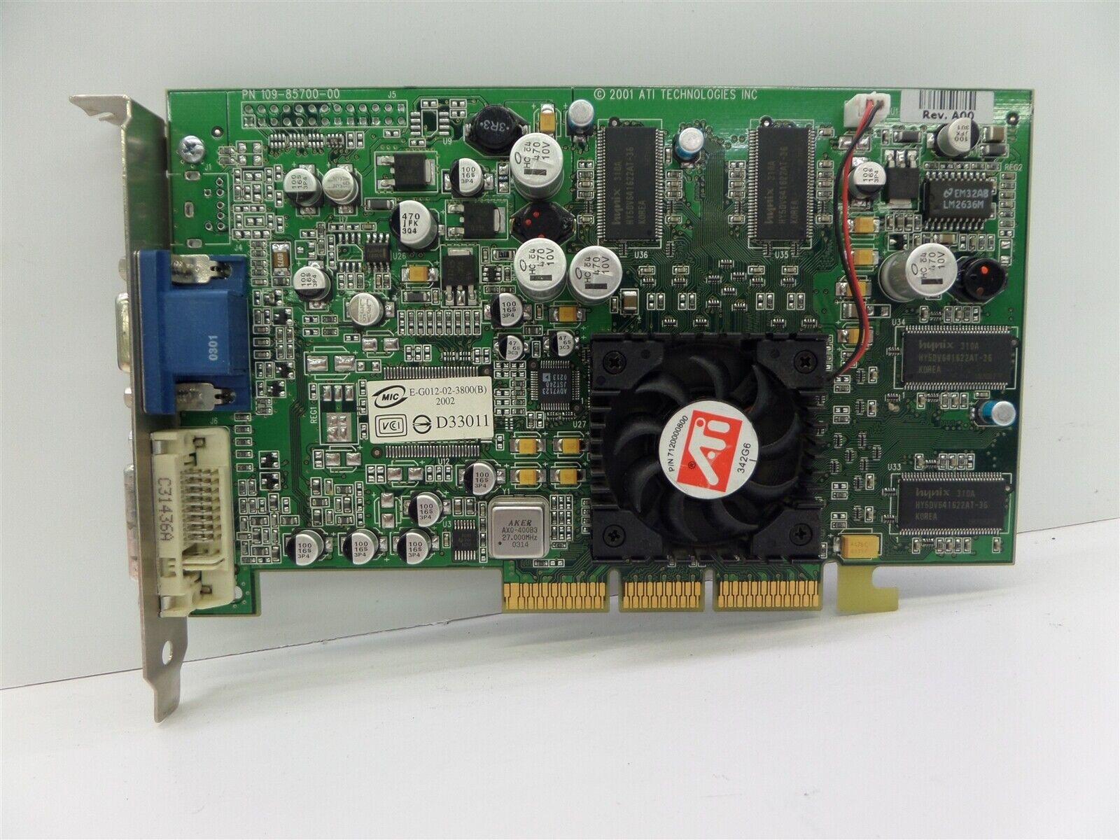 ATI 109-85700-00 Rage Theater 64MB AGP Video Card