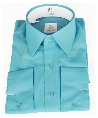 XXL S Herrenhemd Satin Hemd Desginer Shirt Business Regular Fit Langarm Gr