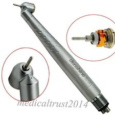 HOT 45°Surgical Highspeed HandpieceOpenPushType1 Water Spray 4 Holes Dental Lab