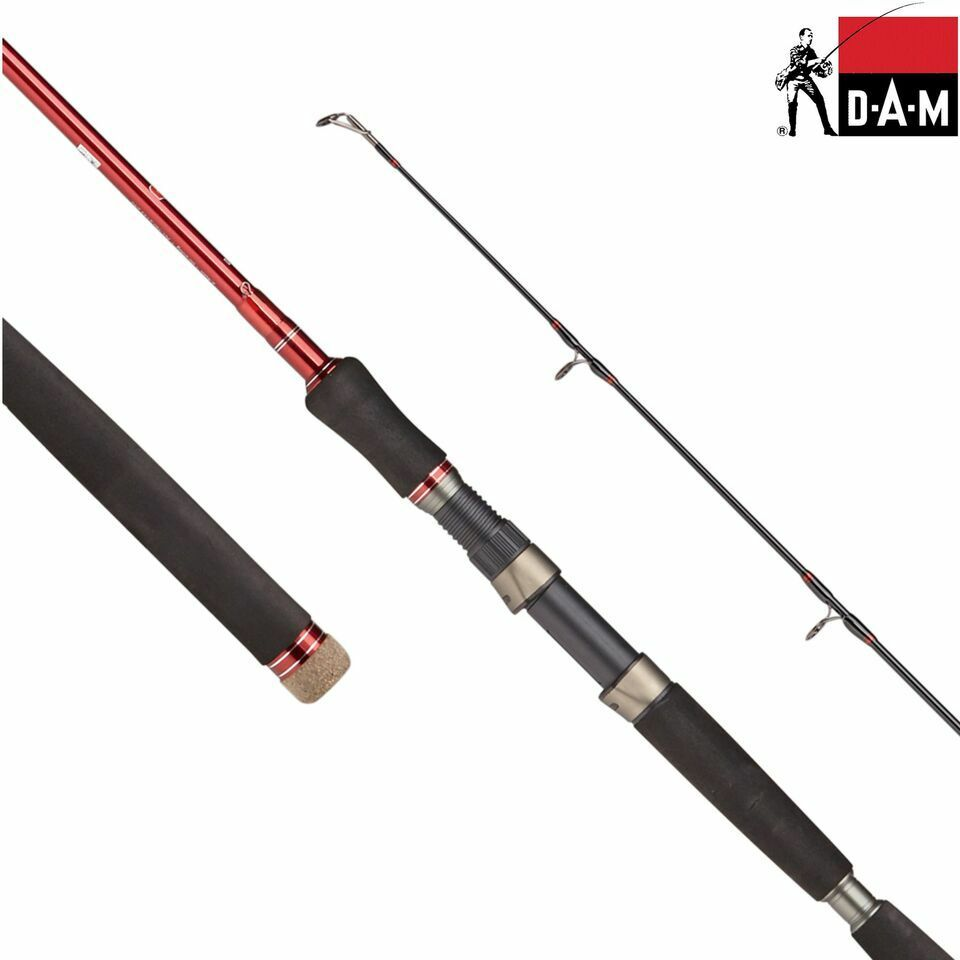 DAM SPR G2 Extreme Pilk Fishing Rod 2.40m - 3.00m   80-300g Casting   2 Sections