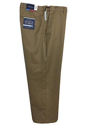 Croft /& Barrow Premium No Iron Classic Fit Khakis Dress Pants Pant Flat Front