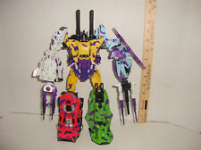 TRANSFORMERS FOC GENERATION 2 G2 BRUTICUS WITH X-TRANSBOTS BOOSTICUS UPGRADE