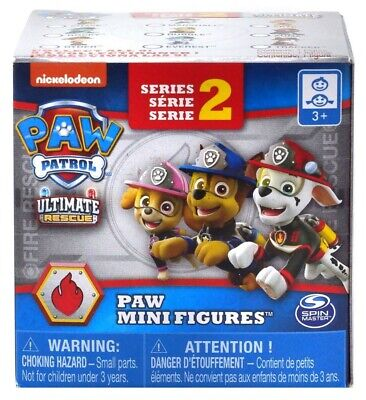 Paw Patrol Mighty Pups Super Paws Mini Figures Series 4 NEUF