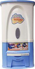 Tayama Rice Dispenser 25kg/50lbs Model PG-25 in Blue