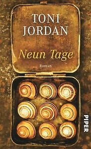 Neun-Tage-Roman-von-Jordan-Toni-Buch-Zustand-sehr-gut