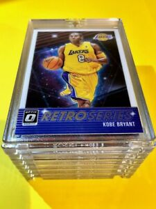 Kobe-Bryant-HOT-DONRUSS-OPTIC-RETRO-SERIES-SPECIAL-INSERT-LAKERS-CARD-23-Mint