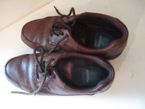 Nunn Bush Brown Leather Cameron Moc Toe Oxford Shoes 83890