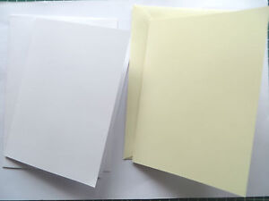 1 5 10 8in sqwhitecream blankplain greeting craft cards with env image is loading 1 5 10 8in sqwhite cream blank plain m4hsunfo