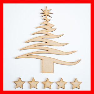 Madera Mdf árbol De Navidad Forma En Blanco árbol Genealógico