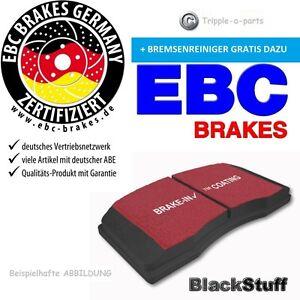 EBC-etoffe-noire-Plaquette-de-freins-dp1289-BMW-3-E-E46-Z4-MG-Rover-75