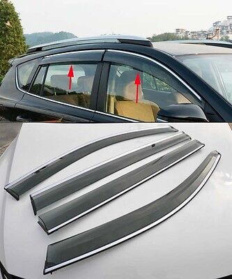ClimAir P0082 Window Visors Dark Suitable for Ford Kuga III 2019