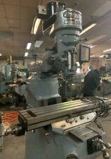 Bridgeport Milling Machine J Head 1 Hp