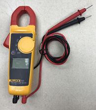 Pristine Fluke 323 True Rms Digital Clamp Meter Acdc Voltage Cat Iv Amp Cat Iii