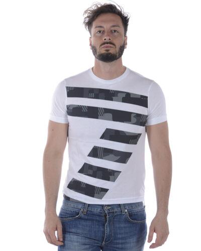 T Bianco 1100 Maglietta Emporio Armani 3zpt88pjm9z Shirt Uomo Ea7 Sweatshirt Tr0wTR