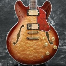 Starshine SUPERB Electric Guitar Semi Hollow Body 335 Style 5a Quilted Maple