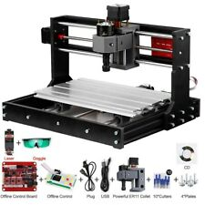 2500mw Grbl Control Diy Mini Cnc Machine 3 Axis Pcb Milling Wood Router Engraver