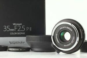 Unused-Boxed-Voigtlander-Color-Skopar-35mm-F-2-5-PII-Lens-M-Mount-From-JAPAN