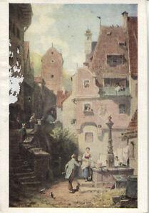 Alte-Kunstpostkarte-Carl-Spitzweg-Der-Hochzeiter