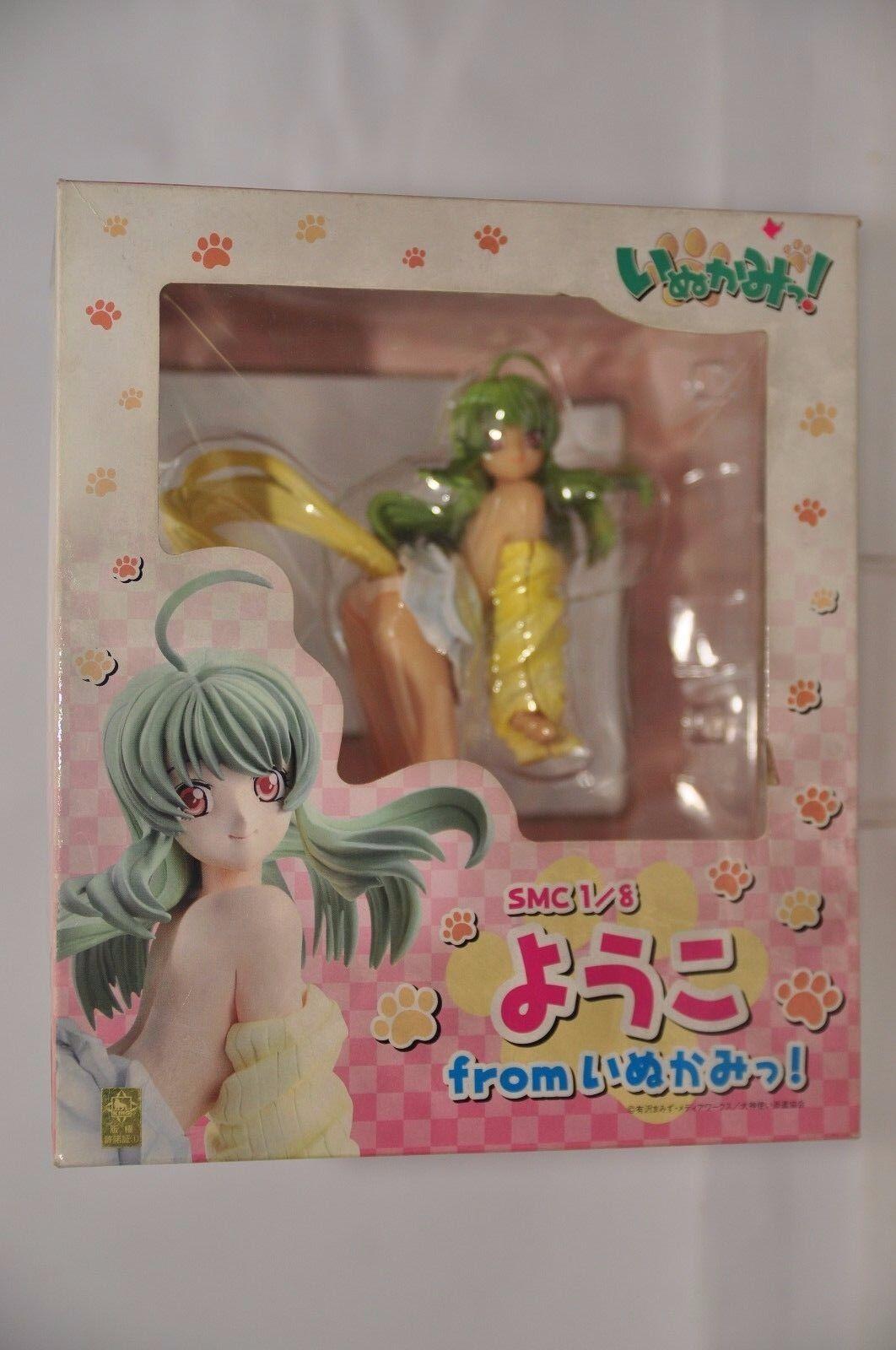 Happinet Japan Inukami Yoko SMC 1 8 Scale PVC Statue 4907953803992 NEW Genuine