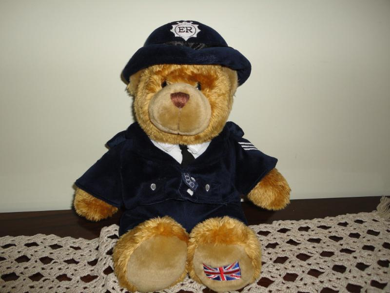 Keel Toys Kent UK Police Constable Bear