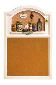 Dettagli su Lavagna/Pannello da cucina per promemoria in legno