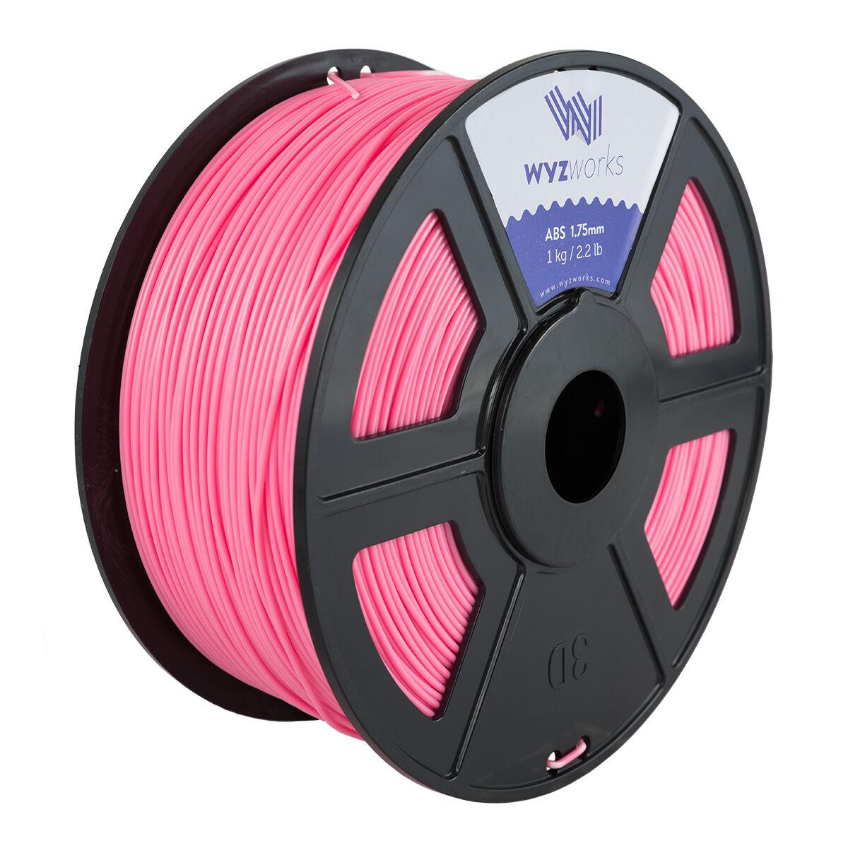 Pink WYZwork 3D Printer Premium PLA Filament 1.75mm 1kg//2.2lb