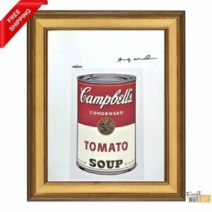 Campbell-Soup-by-Andy-Warhol-Original-Hand-Signed-Print-with-COA