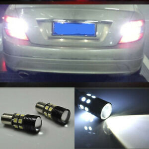 US shipping White 1156 LED Reverse Backup Light Bulbs For 2007-2017 Nissan Versa