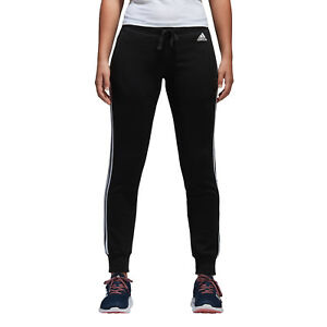 Adidas-Donna-Pantaloni-Essentials-3-Strisce-Work-Out-Gym-Training-Nuovo-S97109
