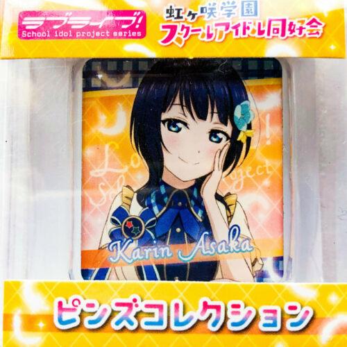 Karin Kanata ... Details about  /Love Live Nijigasaki High School Metal Pin Badge Collection